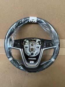 2011-2015 Chevrolet Volt Black Leather Steering Wheel OEM 22956674