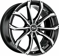 4 alloy rims  MSW 48 8x19 for SUZUKI KIZASHI (FR)