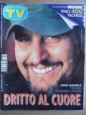 TV Sorrisi e Canzoni n°21 1997 Speciale Pino Daniele Lorenza Mario Parietti [D3]