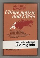 Ultime notizie dall'URSS - A. Ronchey
