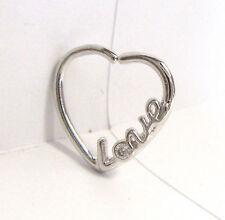 Surgical Steel Heart Cartilage Hoop Ring Seamless 16 gauge 16g 10 mm Diameter