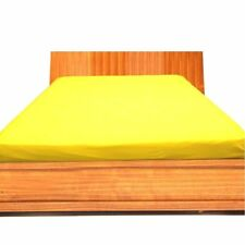 1000 Thread Count Egyptian Cotton 1 PC Fitted Sheet All US&RV-Size Yellow Solid*