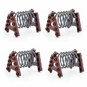Barbed Wire Fence Military Army WW2 A Frame Barbwire Building Blocks fits X4