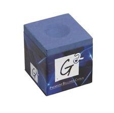 G2 Premium Billiard Chalk - Authentic - Blue Performance Pool Cue Chalk 1 Piece