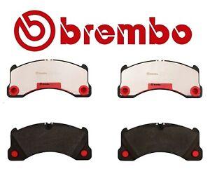 BREMBO FRONT Brakes Brake Pad Set for Porsche 2008-2010 Cayenne GTS Cayenne S