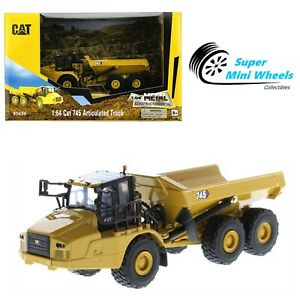 CAT 1:64 - Play & Collect - Cat 745 Articulated Truck - Diecast Model