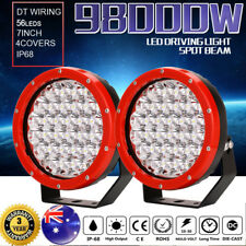 98000W 7inch led cree driving light spotlights work offroad lamp HID 4WD ATV UTV