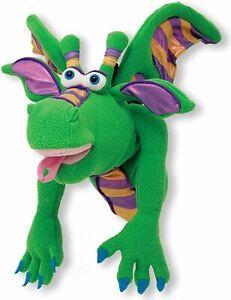 PUPPET DRAGON  ~ Smoulder the Dragon ~ Melissa & and Doug #40360