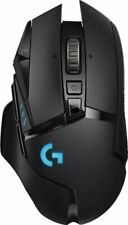 Logitech - G502 Lightspeed Wireless Optical Gaming Mouse with RGB Lighting-Black