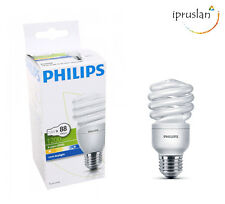 Philips low energy SAVER CFL Econ Twister Lamp 20W E27 220V 865-cool daylight