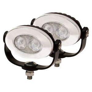6000K LED Auxiliary Flood Lamps Light Kit for Yamaha FJR1300 (all years)
