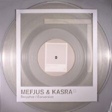 "MEFJUS & KASRA - Decypher - Vinyl (clear 12"" + MP3) Critical - Drum And Bass"