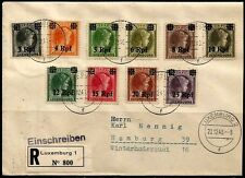 Germany 1940, German occupation of Luxembourg, amazing cover