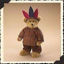 """Boyds Bears """"Little Running Bear"""" 13"""" Fall Bear-#904552 -New -2006 -Retired"""
