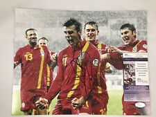 GARETH BALE Signed Autographed 11x14 Photo Wales Real Madrid Auto Soccer JSA COA
