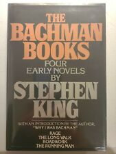 The Bachman Books Stephen King Book Club Edition Dust Jacket & Cover BCE
