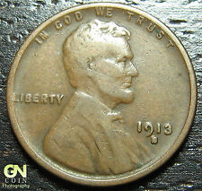 1913 S Lincoln Cent Wheat Penny  -  MAKE US AN OFFER!  #O5377