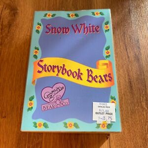 Snow White Storybook Bears Annette Funicello Collectible Bear Co Limited Edition