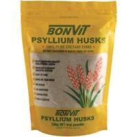 BONVIT PSYLLIUM HUSKS 500G ORAL POWDER 100% PURE DIETARY FIBRE HEALTHY DIGESTION