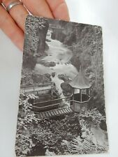 More details for clackmannanshire postcard vintage   rumbling bridge