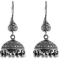 Fashion Design! 925 Sterling Silver Jhumka Earrings