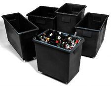 More details for black bar bottle bin portable pub cafe storage waste trucks skips, various sizes