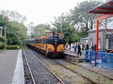 PHOTO  1986 A PAIR OF CIE 121 CLASS DIESEL LOCO PASSENGER TRAIN 123 AT GORT RAIL