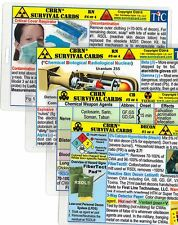 Workbooks study guides textbooks 2011 now publication year for sale cbrn chembioradiologicalnuclear survival card 4 card set fandeluxe Images