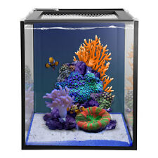 Innovative Marine Nuvo Aquarium Fusion 10 Nano with 8w Skkye Clamp LED