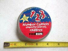 Fox Run Number Set Cookie Cutters (3688)
