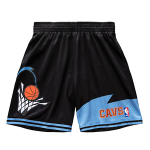 Mitchell & Ness Black NBA Cleveland Cavaliers 97-98 Swingman Shorts