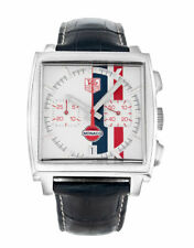 TAG HEUER MONACO GULF CW2118.FC6207 CHRONOGRAPH MENS RARE LIMITED EDITION WATCH