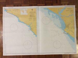 LIBERIA - Approaches To Buchanan / BUCHANAN - ADMIRALTY CHART 3648 PRINTED 2004