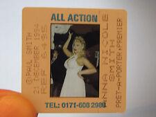 Original Press Promo Slide Negative - Anna Nicole Smith - Model - Glamour - 1994