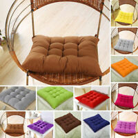 1/4/8pcs Chair Seat Dining Home Kitchen Office Chair Seat Casual Pads Cushions