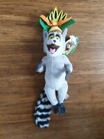 Dreamworks Madagascar King Julien Lemur Plush Soft Stuffed Doll Toy 14'' 35 cm