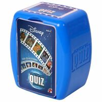 OFFICIAL DISNEY TOP TRUMPS FAMILY TRIVIAL QUIZ GAME NEW AND BOXED