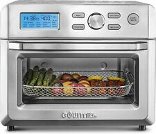 Gourmia GTF7600 16-in-1 Digital Air Fryer Stainless Steel Toaster Oven!!