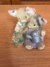 "Enesco 1995 ""This Little Piggy"" ""Our Love Is Growing"" 159611 Figurine"