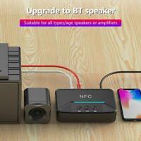 BT200 Kabellos NFC 3.5mm Bluetooth 5.0 Aux Empfänger Auto Lautsprecher Adapter
