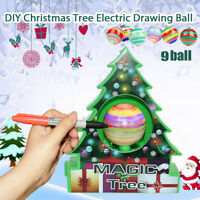 Magic tree DIY Christmas Machine Christmas Tree Decoration kit Electric Painting