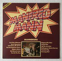 MANFRED MANN ~ MANNERISMS ~ 1976 UK 12-TRACK STEREO VINYL LP ~ PHILIPS SON 016
