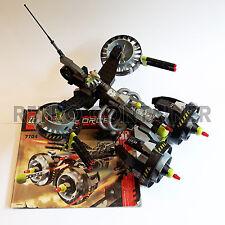 Set 100% Completo LEGO 7704 - Sonic Phantom - 2006 - Vintage Exo Force Lotto KG