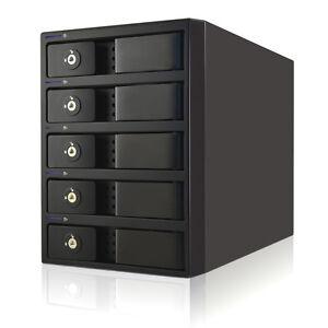 "Mobius 5-Bay FW800, eSATA, USB 3.0 RAID Enclosure for 3.5"" SATA Hard Drive(s)"