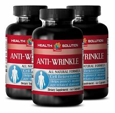 Reducing Wrinkles Pills - Anti-Wrinkle Boost 1275mg - Aloe Vera Supplements 3B