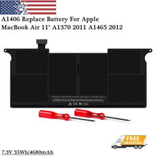 "OEM A1406 Replace Battery For Apple MacBook Air 11"" A1370 2011 A1465 2012 35Wh"