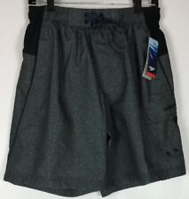 Mens Speedo Board Shorts Small Drawstring Swim Trunks NWT Polyester