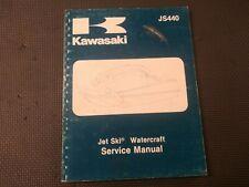 Factory Service Repair Shop Manual 1982-1983 Kawasaki Js440 99963-0054-01