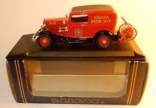 ELIGOR FORD V8 1932 TUDOR POMPIERS DE OMAHA FIRE DIVISION N°6 1/43 REF 1211 BOX