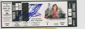 ARIE LUYENDYK Indianapolis 500 SIGNED Full 1991 INDY 500 Auto Race TICKET